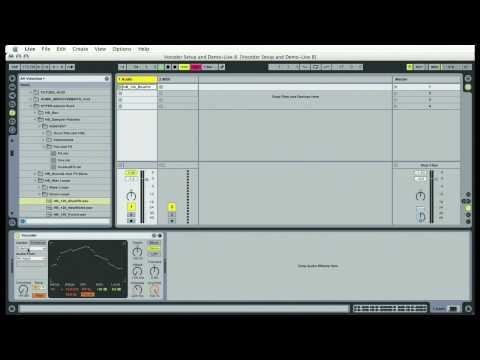 The Ableton Vocoder Part 1 of 2