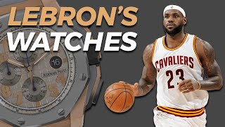 LeBron James' Watch Collection (2018)