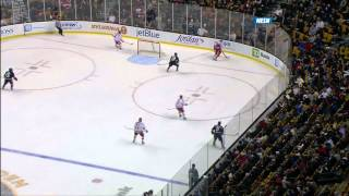 Northeastern vs. Boston University Beanpot Highlights - 02/04/2013