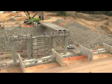 Northern Expressway - Gawler River Bypass Time lapse (DPTI)