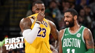 There is a chance Kyrie Irving leaves Boston in the offseason – Max Kellerman | First Take