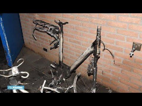 Accu's elektrische fietsen spontaan in brand: 'De hele fiets was weg'  - RTL NIEUWS