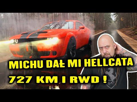 Michu dał mi kluczyki do swojego auta - Dodge Challenger SRT Hellcat 6.2