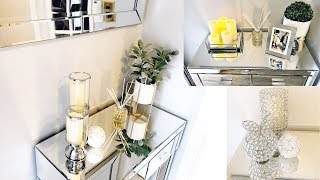 New| Home Decor 2019| How To Style Entryway Three ways