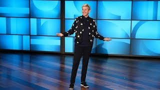 Ellen Explains Why It's Getting Harder for Passengers to Fly