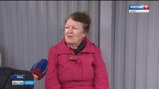 В Омске вновь ожидается шквалистый ветер с порывами до 26 метров в секунду