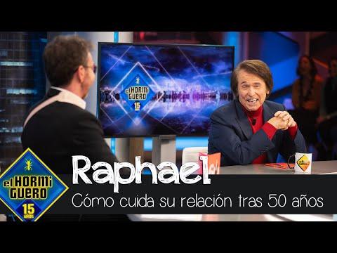 Raphael cómo cuida su relacion tras llevar 50 años al lado de su mujer, Natalia – El Hormiguero
