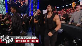 The Shield's Biggest Victories  WWE Top 10, April 20, 2019