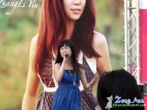 2010.03.20 Park Paragon Fan Meeting - Zhang Li Yin - Y (Why) Fancam