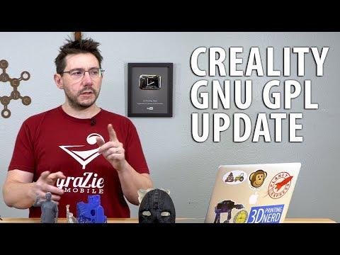 Creality GPL Update - Naomi Wu Released CR-10S Marlin Source Code