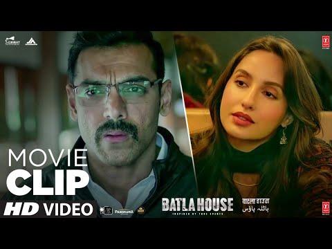Dilshad Gadi Me Nhi Hai   Batla House   Movie Clip   John Abraham   Action Scene   T-Series