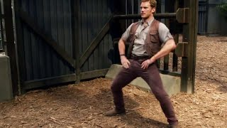 Jurassic World Stunts B-Roll and Gag Reel (2015) Chris Pratt Dinosaur Movie HD