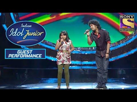 Papon के साथ Anjana ने दिया Phenomenal Performance | Indian Idol Junior | Guest Performance