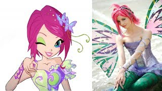 Winx Club Characters In Reallife 2017