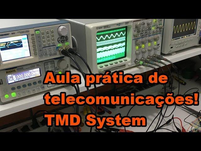AULA PRÁTICA DE TELECOM SISTEMA TDM | Conheça Eletrônica! #150
