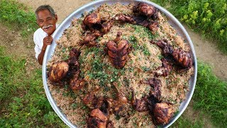Chicken Mandhi Recipe | How to cook Arabian Mandhi Rice | Traditional Mandi Recipe By Grandpa