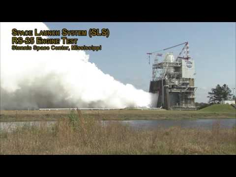 NASA's Stennis Space Center Conducts RS-25 Engin…