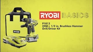 Video: 18V ONE+™ Brushless Hammer Drill/Driver Kit