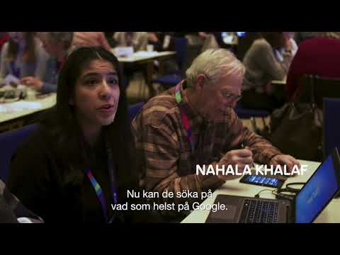 Ungdomar i Sunne lär äldre bli mer digitala