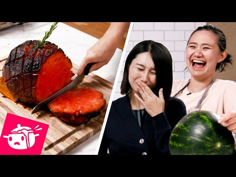 I Tried To Re-Create This Watermelon Ham ?Eating Your Feed ?Tasty