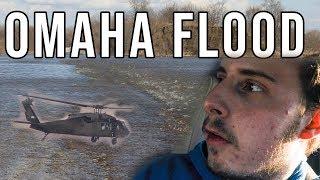 Checking out the Historic Omaha, Nebraska Flooding.