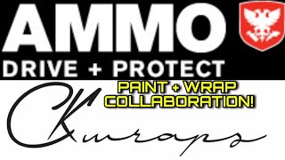 Paint & Vinyl Wrap Come Together. Collaboration With Ammo NYC. Ask Your Questions!