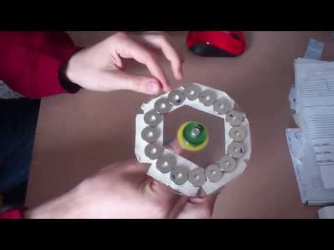 Magnetic motor fake