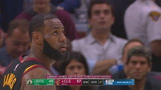 LeBron James Passes Kareem Abdul-Jabarr For Most Made Field Goals in NBA Playoffs History!