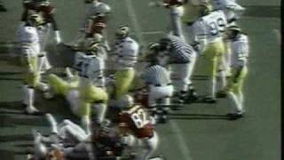 1980: Michigan 9 Ohio State 3