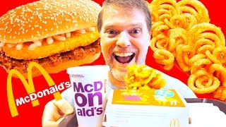 McDonalds GOLDEN PROSPERITY BURGER FOOD REVIEW -  Fast Food Friday Food Review - Greg's Kitchen
