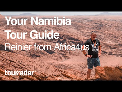 Your Namibia Tour Guide Reinier from Africa4us