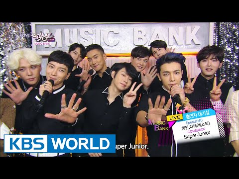 Super Junior - Shirt / MAMACITA (아야야) [Music Bank COMEBACK / 2014.08.29]