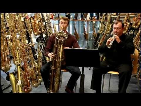 El Saxofón. (la familia y partes del instrumento)
