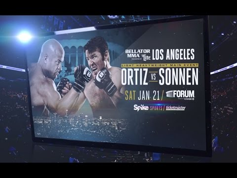 Bellator 170  Ortiz vs Sonnen   Jan 21,2017 Fight Preview  & Predictions