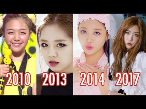 Girl's Day Evolution 2010-2017 #7YearsWithGirlsDay