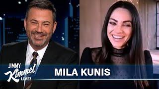 Mila Kunis Took Ashton & the Kids to a Drive-Thru Baby Rave