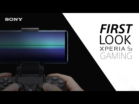 FIRST LOOK: Sony Xperia 5 II for gaming