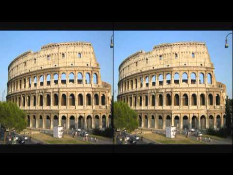 European landmarks and attractions in 3D 2