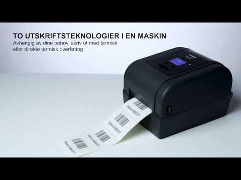 Brother TD4650TNWBR etikettskriver med  RFID, Bluetooth, Wi-Fi og kablet nettverkstilkobling