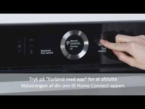 Home Connect tilslutning af Bosch indbygningsovn