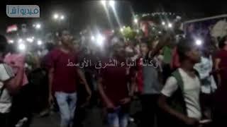 بالفيديو: مواطنى اسوان يحتفلون بصعود منتخب مصر     -