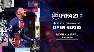 FIFA 21 : Monthly Finals NA : PS4 Tournaments Open Series