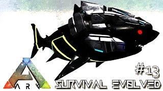 ARK: SURVIVAL EVOLVED - BIONIC MEGALODON & TIGER SHARK !!! E13 (MODDED ARK MYSTIC ACADEMY)