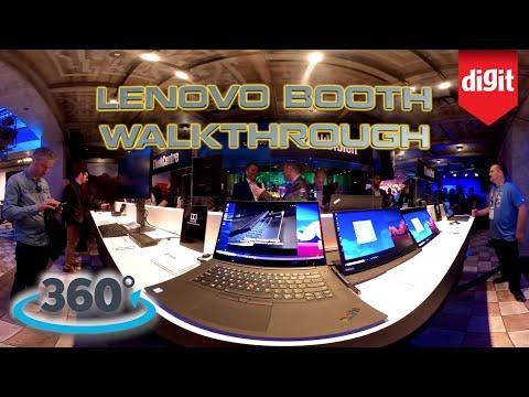 360? Walkthrough of The Lenovo Booth @ CES 2020
