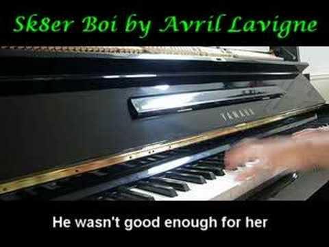 Baixar Sk8er Boi - Avril Lavigne  (Piano)