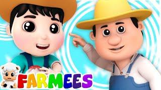 Johny Johny Sí papá   Canciones infantiles   Dibujos animados   Farmees Español   Educación