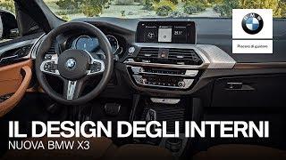 Interni sofisticati e più connettività. Nuova BMW X3.