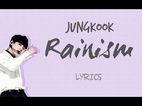 BTS Jungkook - 'Rainism' (Cover)[2016 MBC Gayo Daejejeon] [Han|Rom|Eng lyrics]