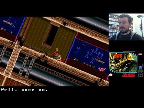 SOS (Super Nintendo) - El hundimiento del Titanic en SNES || Gameplay en Español