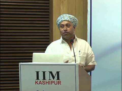 Osama Manzar @ IIM Kashipur